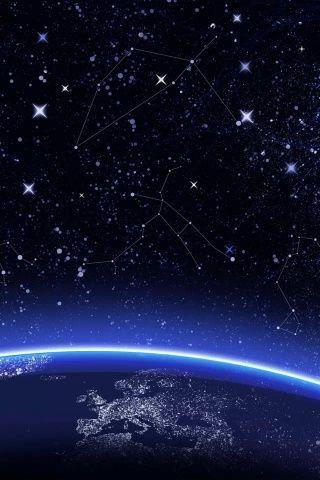 Download · Constellation,320x480,480x320,wallpaper,background