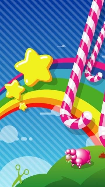 candy world wallpaper - photo #13