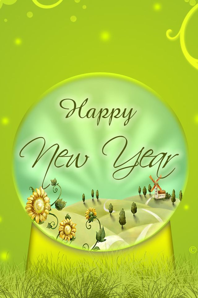 download happy new year 2011640x960960x640wallpaperbackgroundiphone 4
