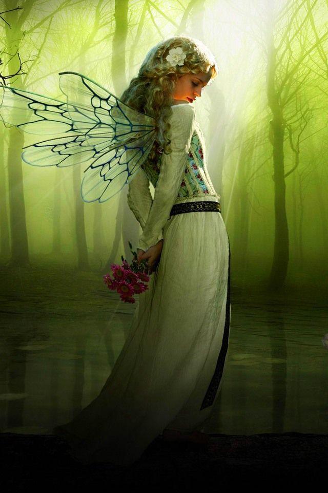 fairy,640x960,960x640,wallpaper,background,iPhone 4,Apple