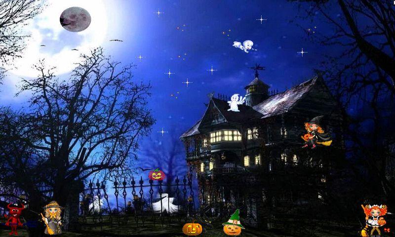 halloween EVENING,800x480,480x800,wallpaper,background