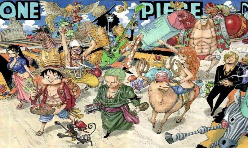 Download One Piece Walk800x480480x800wallpaperbackground
