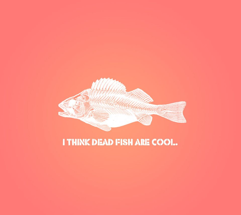 Dead Fish Are Cool,960x854,854x960,wallpaper,background